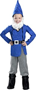 Boy Garden Gnome Costume, Small, One Color