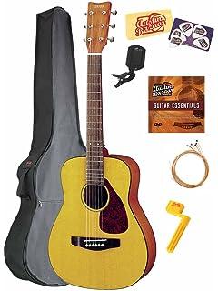 yamaha jr1. yamaha jr1 3/4-scale mini folk acoustic guitar bundle with gig bag, jr1
