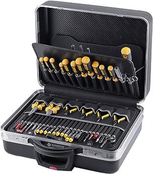 Bernstein Compact-Mobil 7000 - Caja de herramientas de electrónica (incluye 63 herramientas): Amazon.es: Bricolaje y herramientas