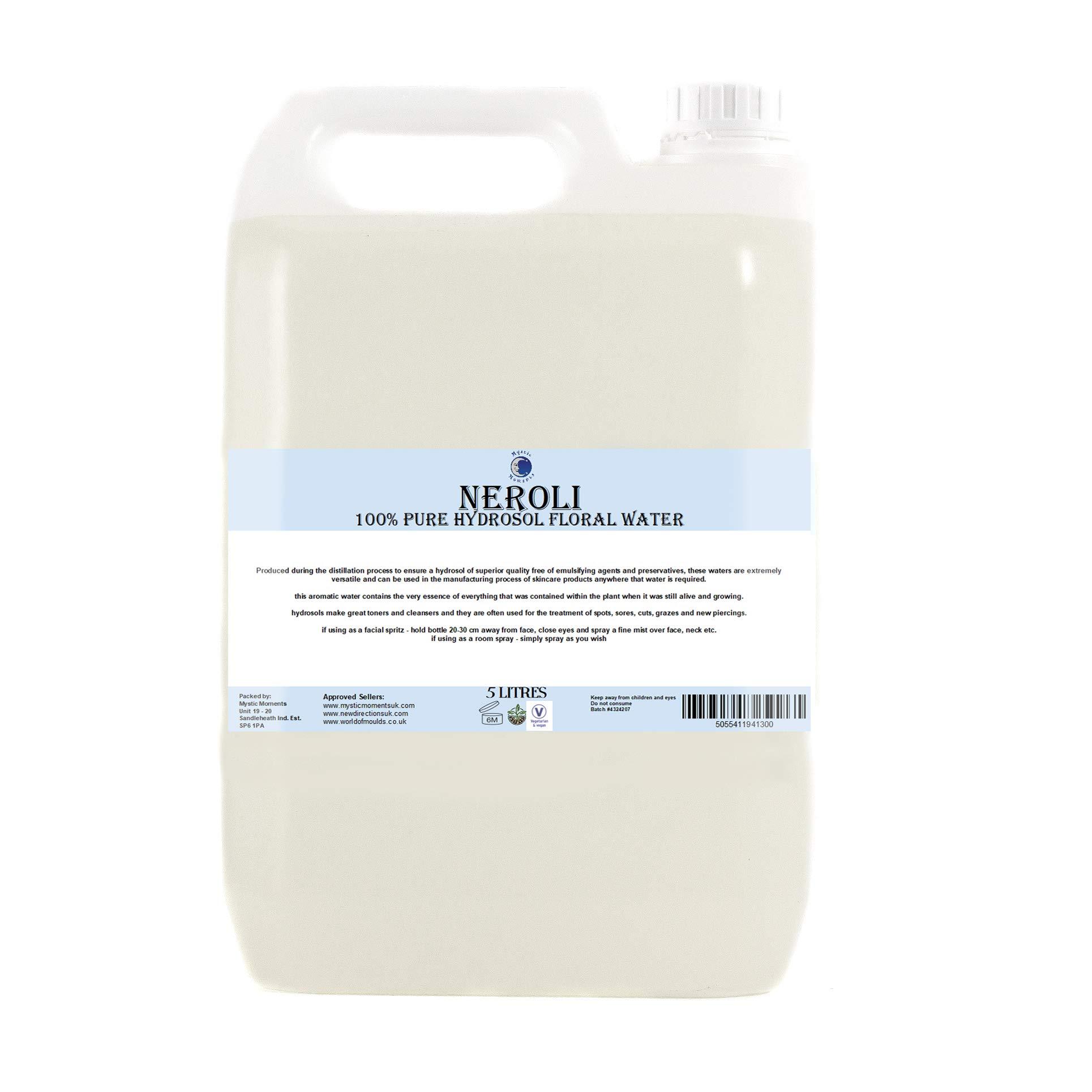Neroli Hydrosol Floral Water - 5 litres