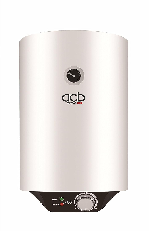 Termo de Agua eléctrico 50 Litros vertical ACB Europe: Amazon.es: Bricolaje y herramientas