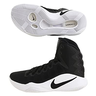 quality design a9659 c0349 Nike Women s Hyperdunk 2016 TB Basketball Shoes Black Black White 6 B(M