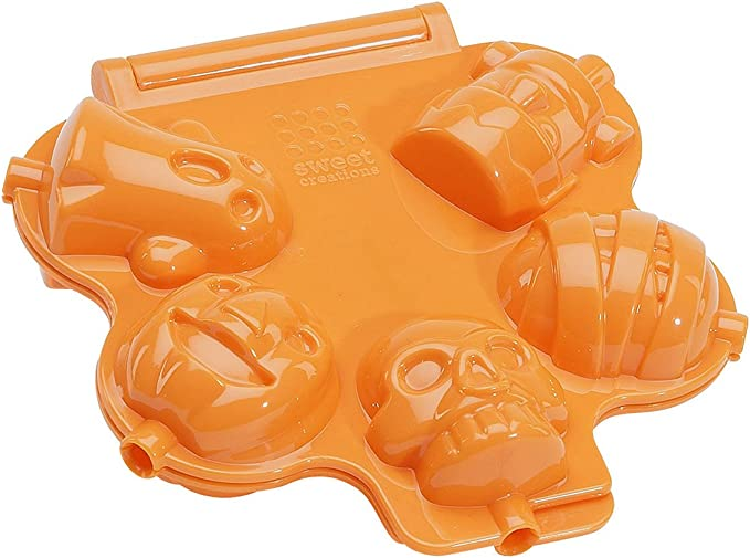 SILICONE GHOST CAKE POP MOULD 10A10175