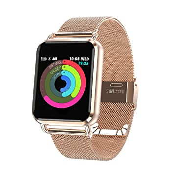 Montre Connectée, Smart Watch pour Femme Homme Enfant Bluetooth Smartwatch IP67 Imperméable Sports Moniteur de