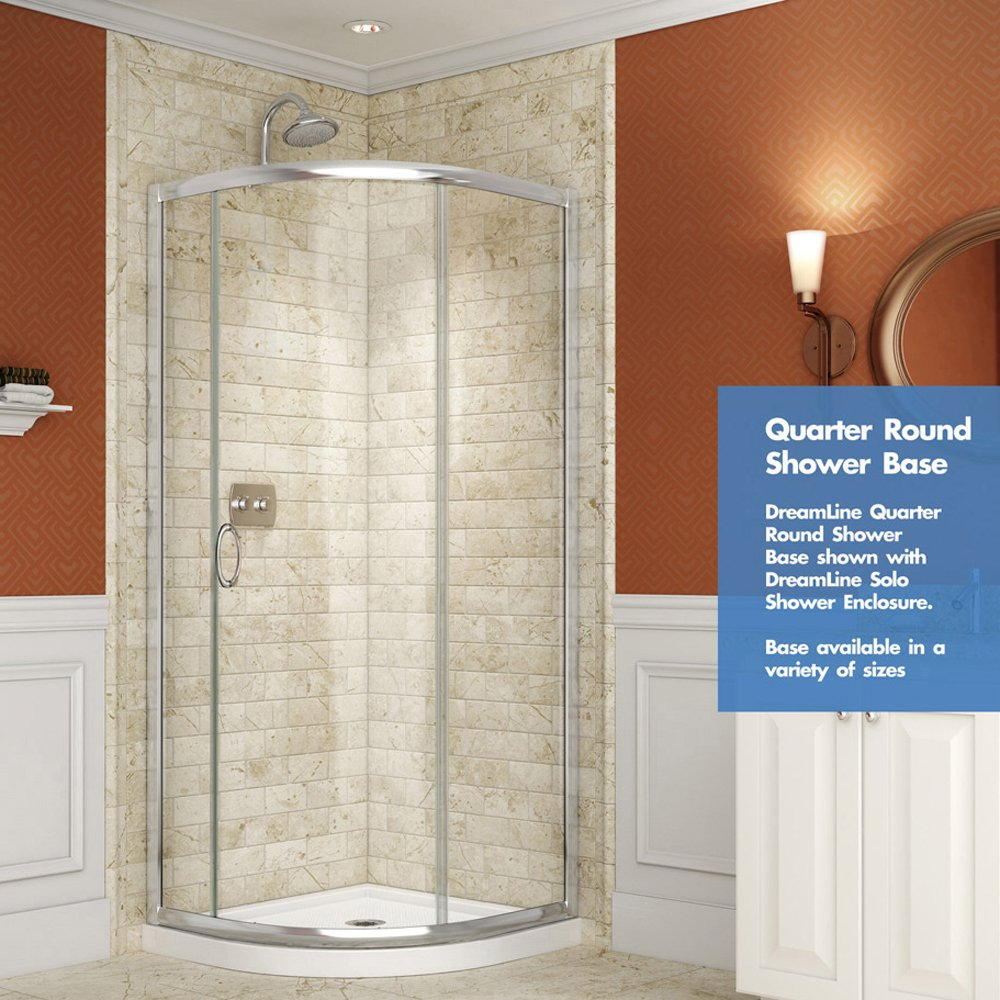 DreamLine DL-6703-22-01FR Shower Enclosure And Base, Chrome ...