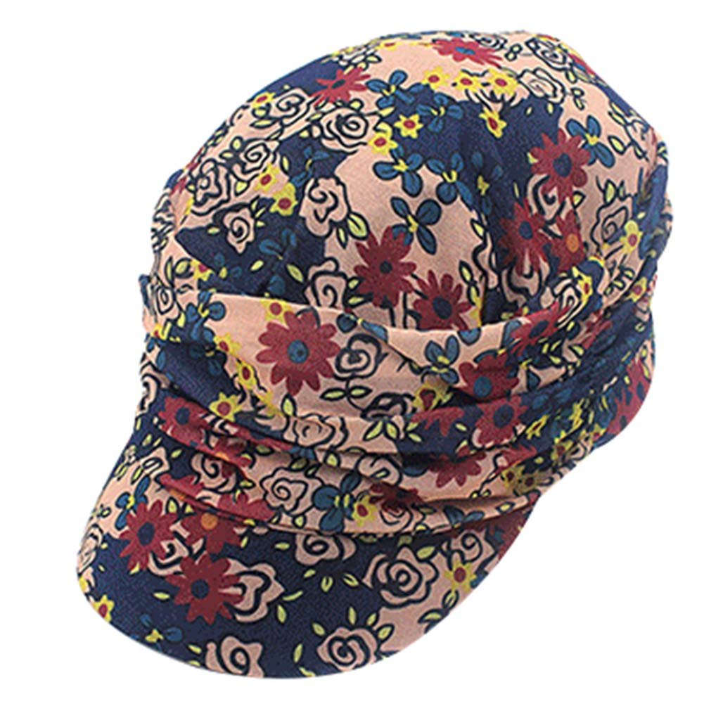 Floral Hats Breathable Baseball Cap Outdoor Sport Sun Hats Baseball Hats Female Panda Superstore PS-SPO374749011-LILY00907