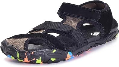 Mens Gents Multi Strap Summer Hiking Walking Trekking Beach Sports Sandal