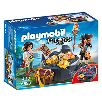 PLAYMOBIL Pirate Treasure Hideout: Playmobil: Toys & Games