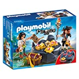 Playmobil 6683 Pirate's Treasure Chest Game - Multi-Coloured
