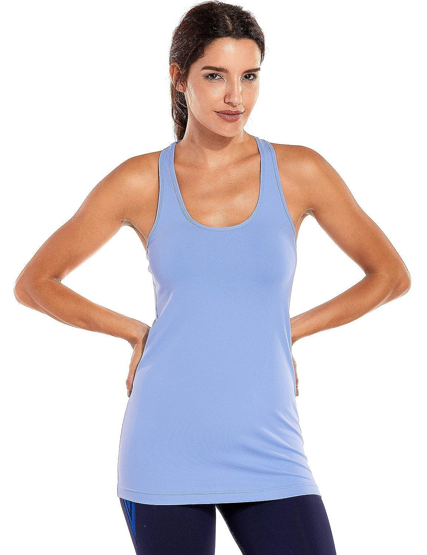 TALLA XXS(34). CRZ YOGA Mujer Camiseta Tirantes Deporte de Sueltas Formación Camiseta sin Mangas