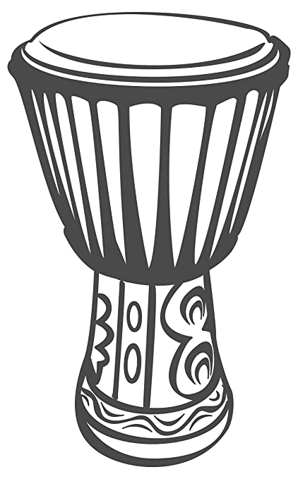 I Love Wandtattoo Apos 10064 Wall Tattoo Decal Sticker African Drum