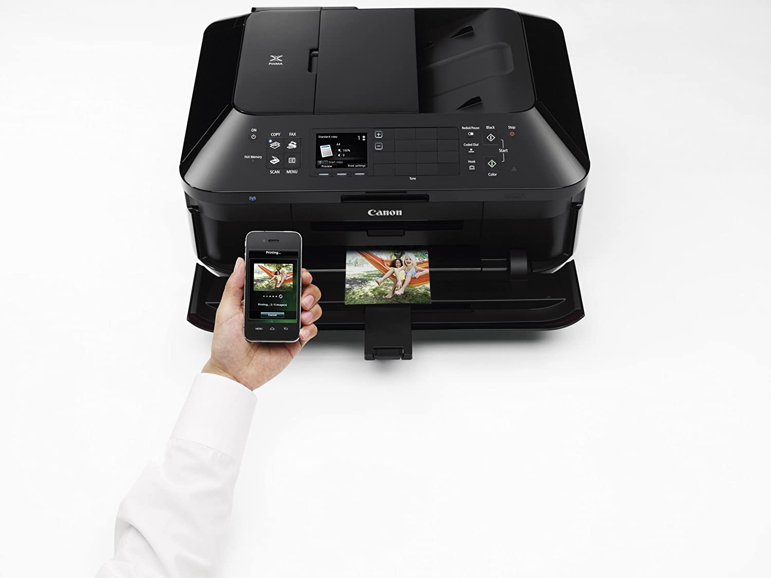amazoncom canon office and business mx922 all in one printer wireless and mobile printing electronics amazoncom stills office