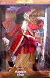 Disney Peter Pan CAPTAIN HOOK Doll Masters of Malice - 1st in Series Male Villains Limited Edition (1999)