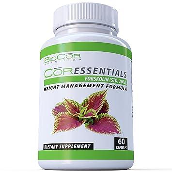 Amazon.com: biocor Nutrition Forskolin 250 mg quemador de ...
