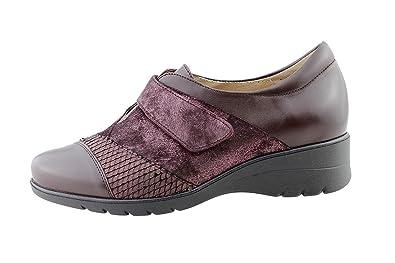 Komfort Damenlederschuh PieSanto 175956 Klettverschluss Schuh bequem breit