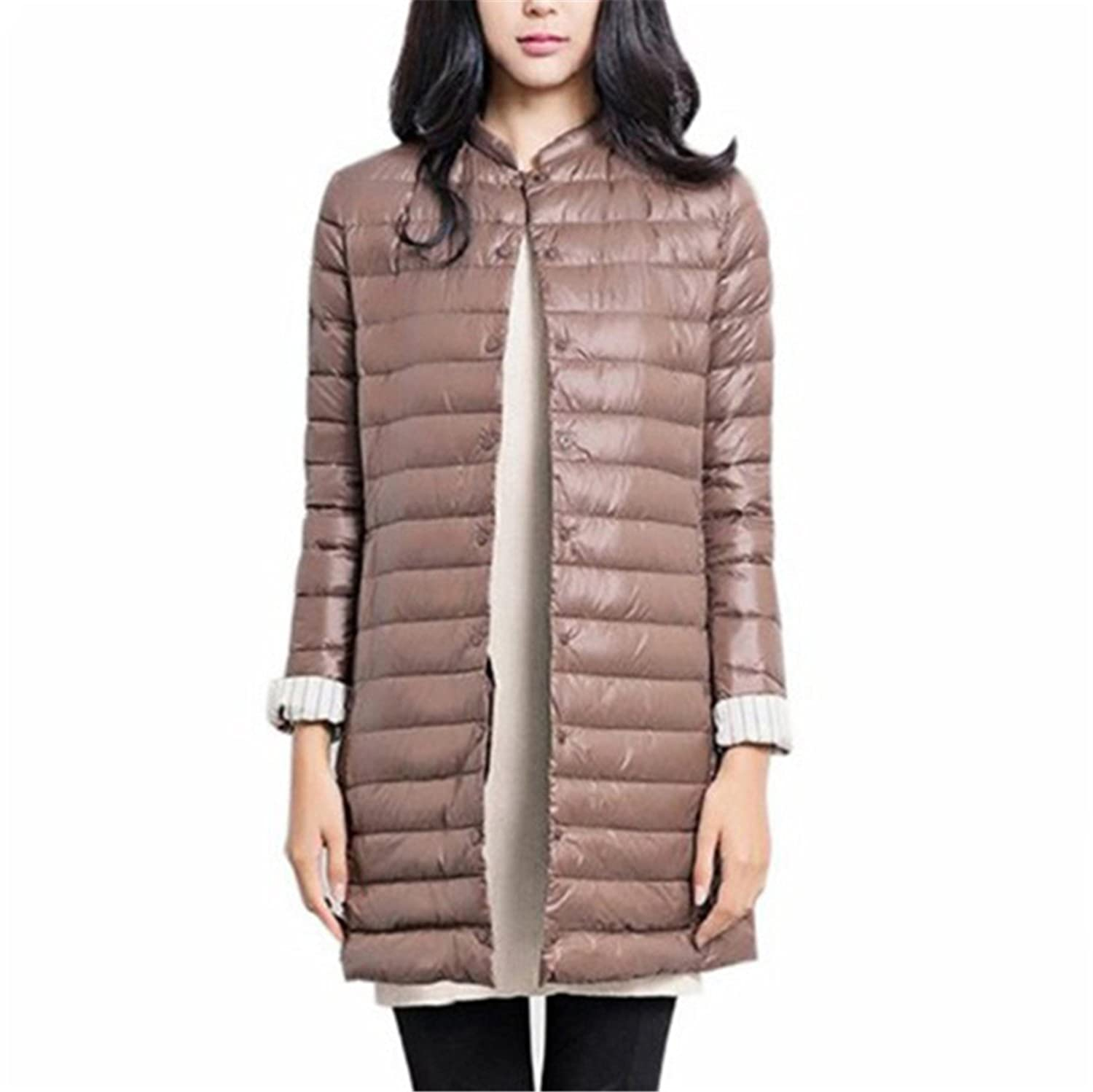 Dapengzhu 1PC Thin Down Jacket Winter Coat Women Winter Coat Women Long Coats Outerwear Parka Zang Qing XS at Amazon Womens Coats Shop