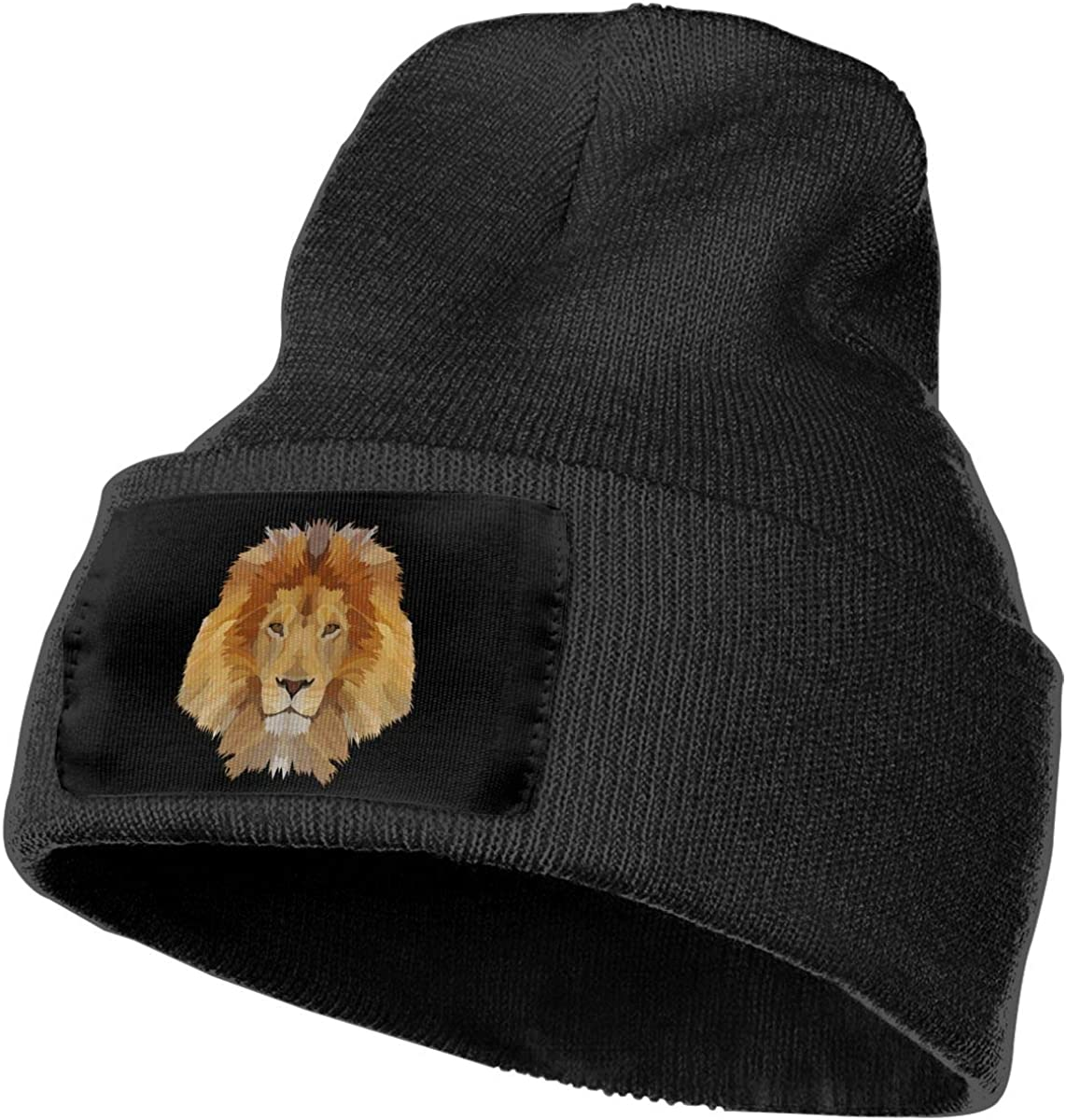 The King of Lion Unisex Fashion Knitted Hat Luxury Hip-Hop Cap