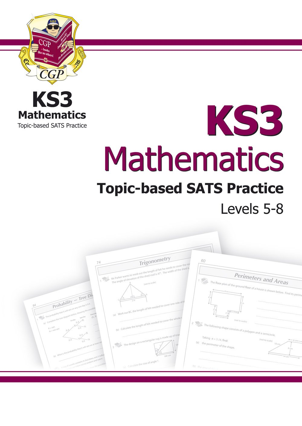 Key stage 3 mathematics essential sats practice levels 5 8 key stage 3 mathematics essential sats practice levels 5 8 ks3 maths level 5 8 essential exam practice and answerbook multipack amazon cgp robcynllc Images