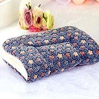 Luxuriöse Schlafmatte/Decke von Favolook, sehr weich, dick und warm, Fleece, für kleine und mittelgroße Hunde und Katzen
