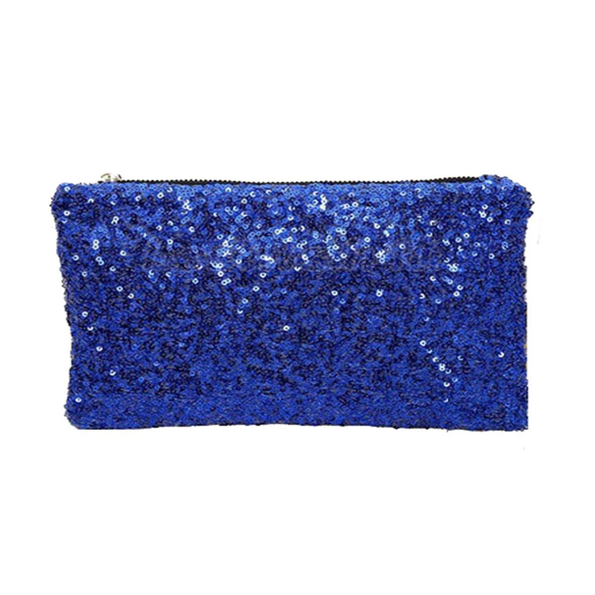 Pailletten Clutch Luxus Mode Elegante Damen Handtasche Stoff Abendtasche mit 3 Seitenfä chern hochwertige Schultertasche Umhä ngtasche Damentasche 4060131051315