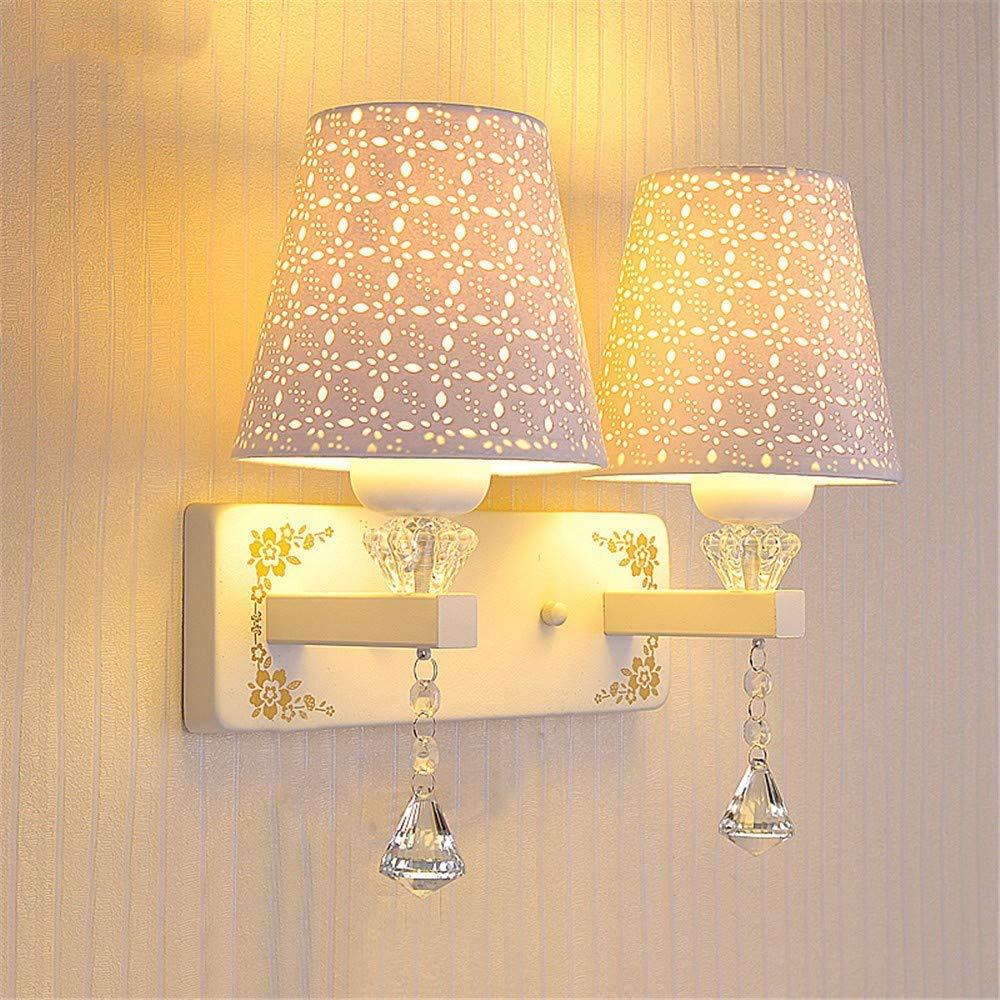 Eeayyygch Wall Wash Lights Nachttischlampe LED Wandleuchte Schlafzimmer Einfache Moderne Warm Single Wandleuchte Gang Wohnzimmer Treppe Wandleuchte Konservierungsmittel (Farbe   -, Größe   -)