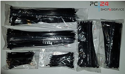 64 opinioni per Fascette per cablaggio- 600pz- Nero- 100/200/290mm- PC24 Shop & Service Qualità