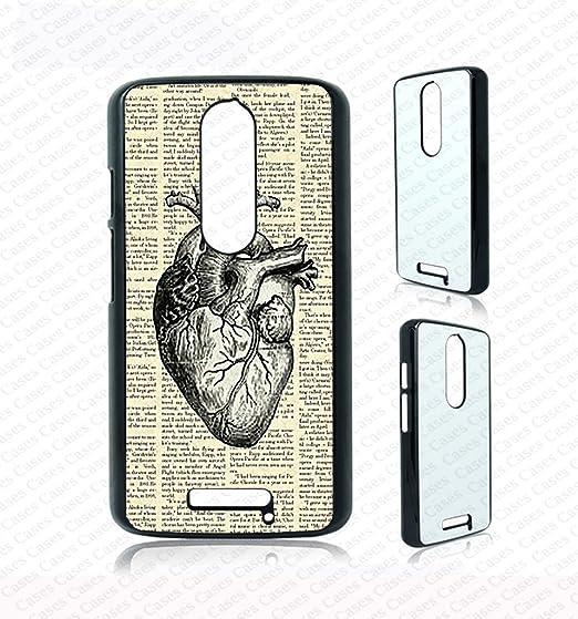 best loved b19fd ca1e4 Amazon.com: Krezy Case anatomy heart Moto g3 Case, moto g3 Cover ...