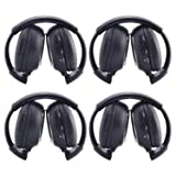 Ouku®4 Pack of Two Channel Folding Rear Music