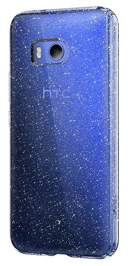 new product e6806 7da20 Spigen Liquid Crystal Glitter Designed for HTC U11 Case (2017) - Crystal  Quartz