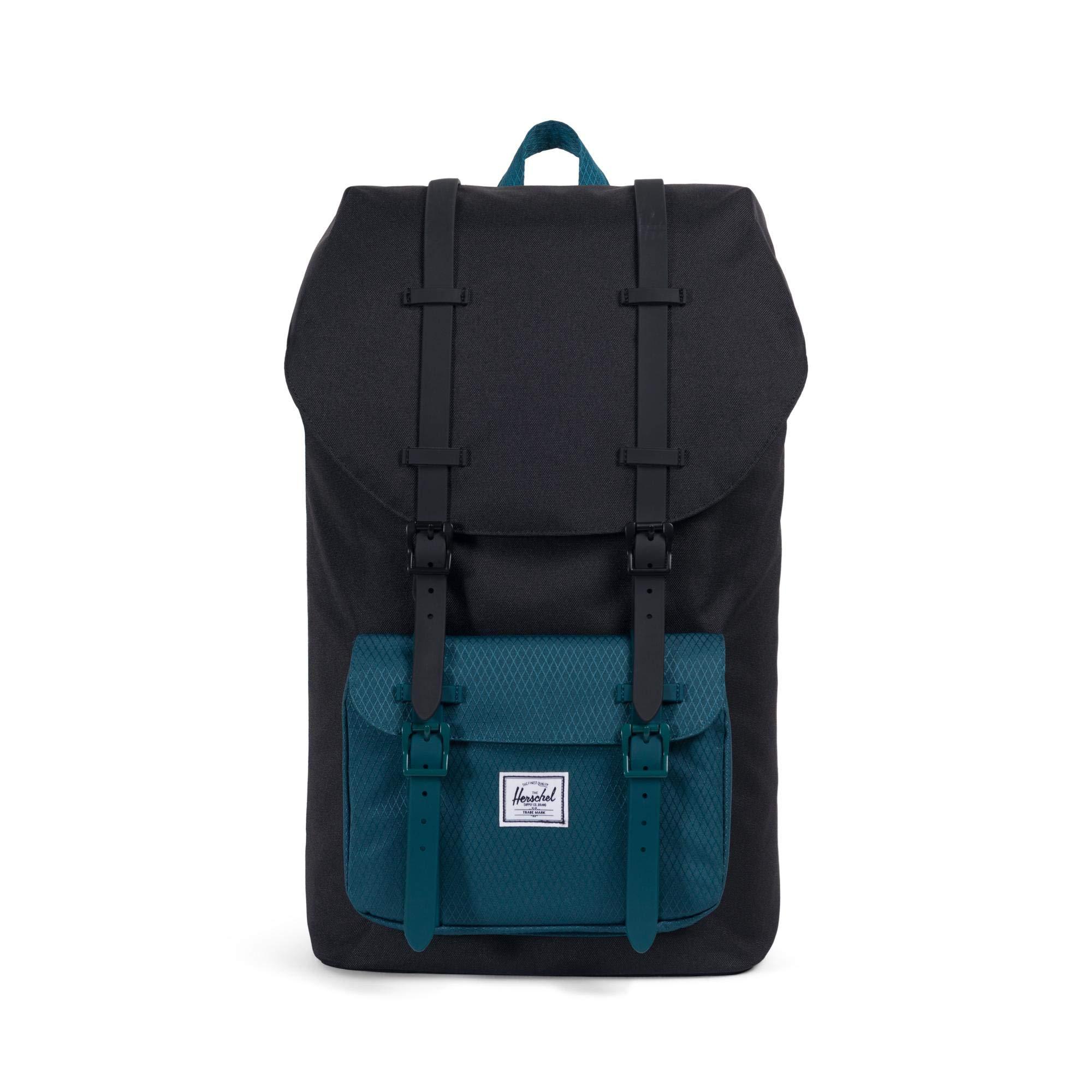 Herschel Little America Backpack Black/Deep Teal One Size