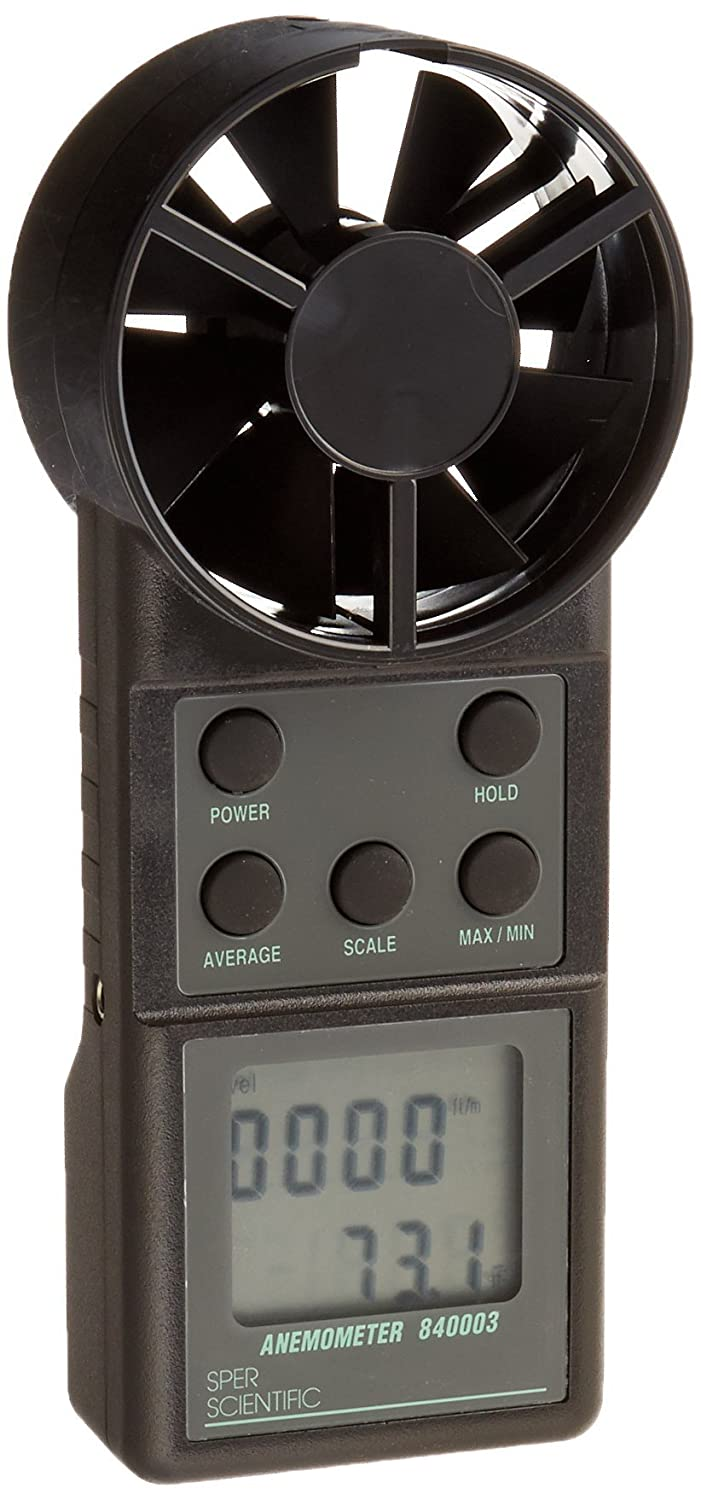 Sper Scientific 840003 Anemometer/Thermometer