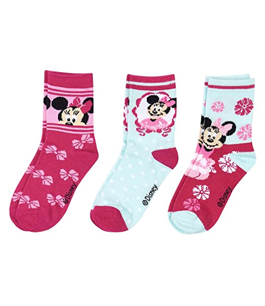 unicornio DISNEY 3 x Calcetines Mickie Minnie