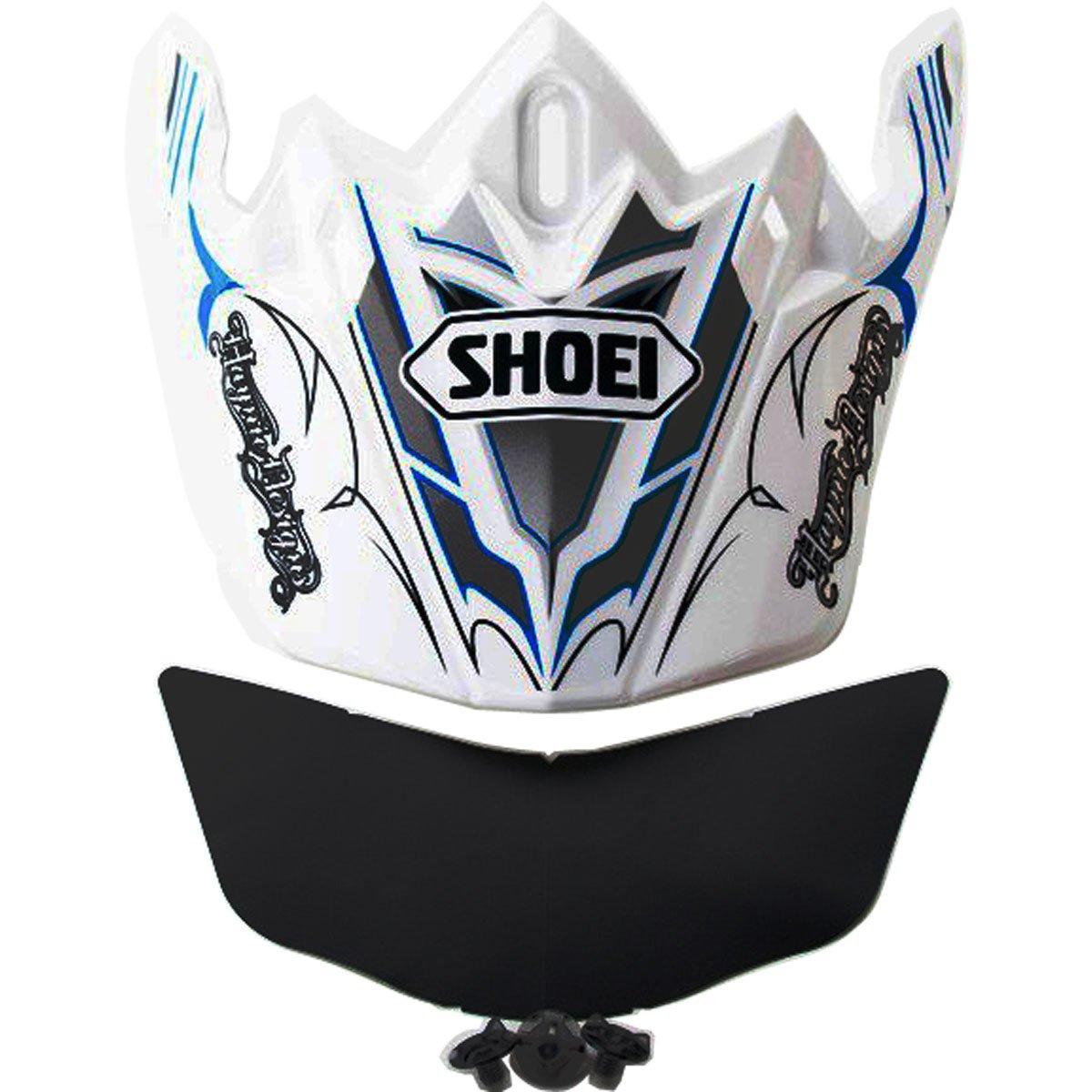 Shoei VFX-W Sleek Visor K-Dub2 Off-Road Motorcycle Helmet Accessories - TC-6 / One Size