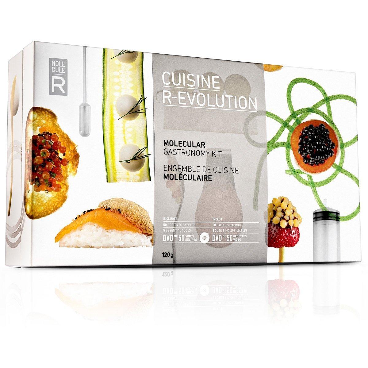 Cuisine R-EVOLUTION (Molecular Gastronomy Kit) Molecule-R 831835000626