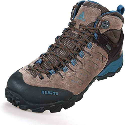 HIFEOS Hiking Boots for Mens Womens Unisex Suede Leather Outdoor Waterproof Backpacking Shoes