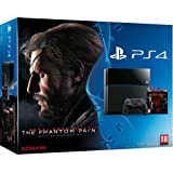 Console PS4 500 Go Noire + Metal Gear Solid V : The Phantom Pain
