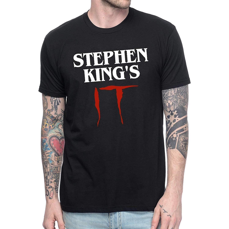 Thriller Horror Movie Stephen King S It 2017 T Shirt Clown Joker Pennywise Graphic Tee Shi