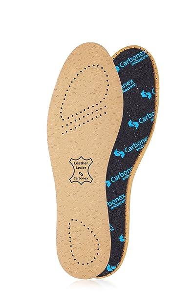 Kaps Insoles For Men Women Luxury Leather Shoe Insoles Inserts