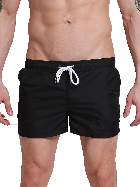 Neleus メンズドライフィットショーツ ポケット付き B06XJWBRFZ XS,0801# Black