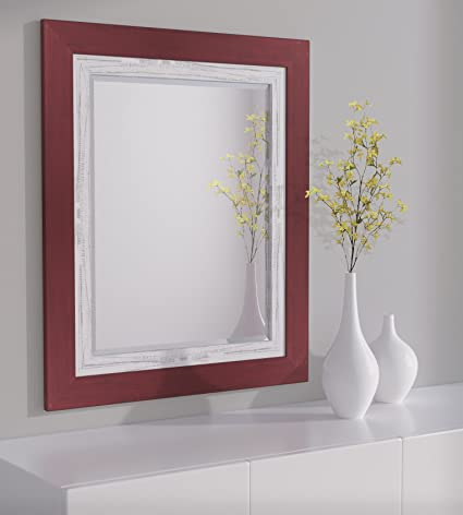 30 x 36 mirror rectangular lnd reflections framed beveled mirror 30quotx36quot or 32quotx44quot amazoncom 30