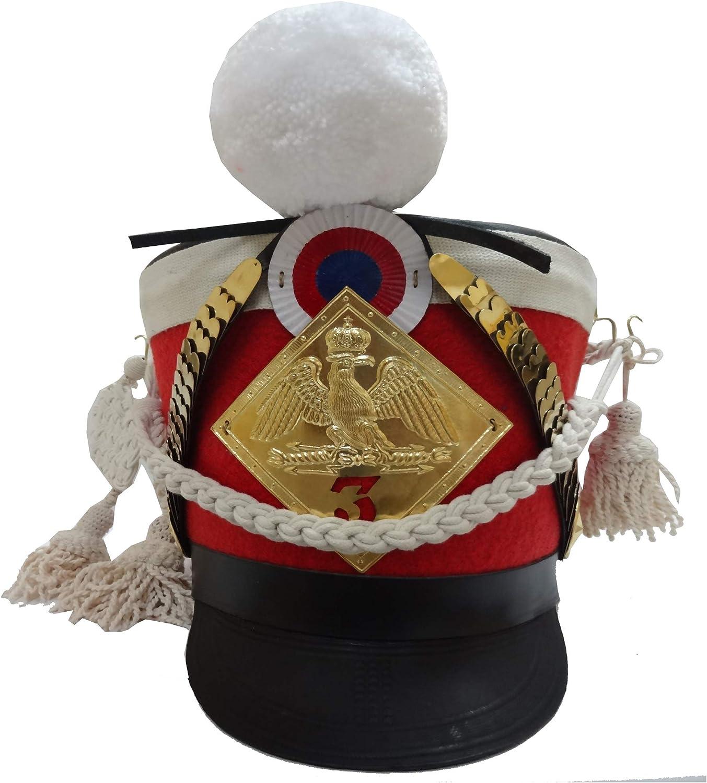 SHAKO HELMET French Napoleonic Shako Helmet