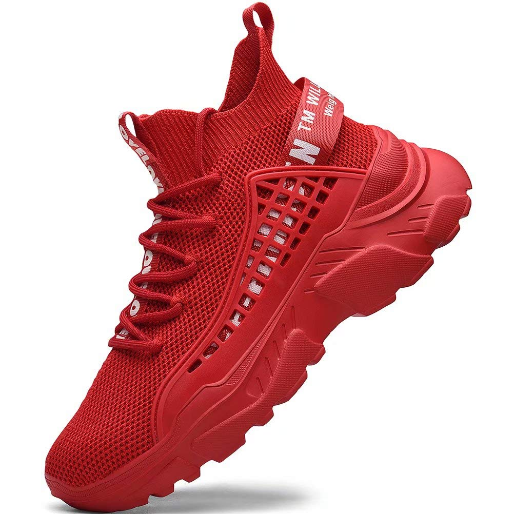 FUSHITON Zapatillas Running Hombre Zapatillas Hombre Sneakers Zapatos Hombre Zapatillas Casual Calzado Deportivo Hombre Zapatillas Altas Hombre