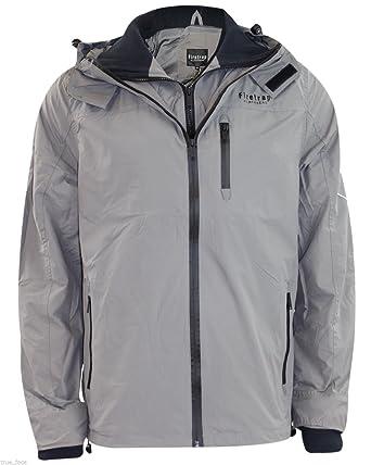 Firetrap Mens Summer Jacket Hooded Water Resistant Coat Amazon Co
