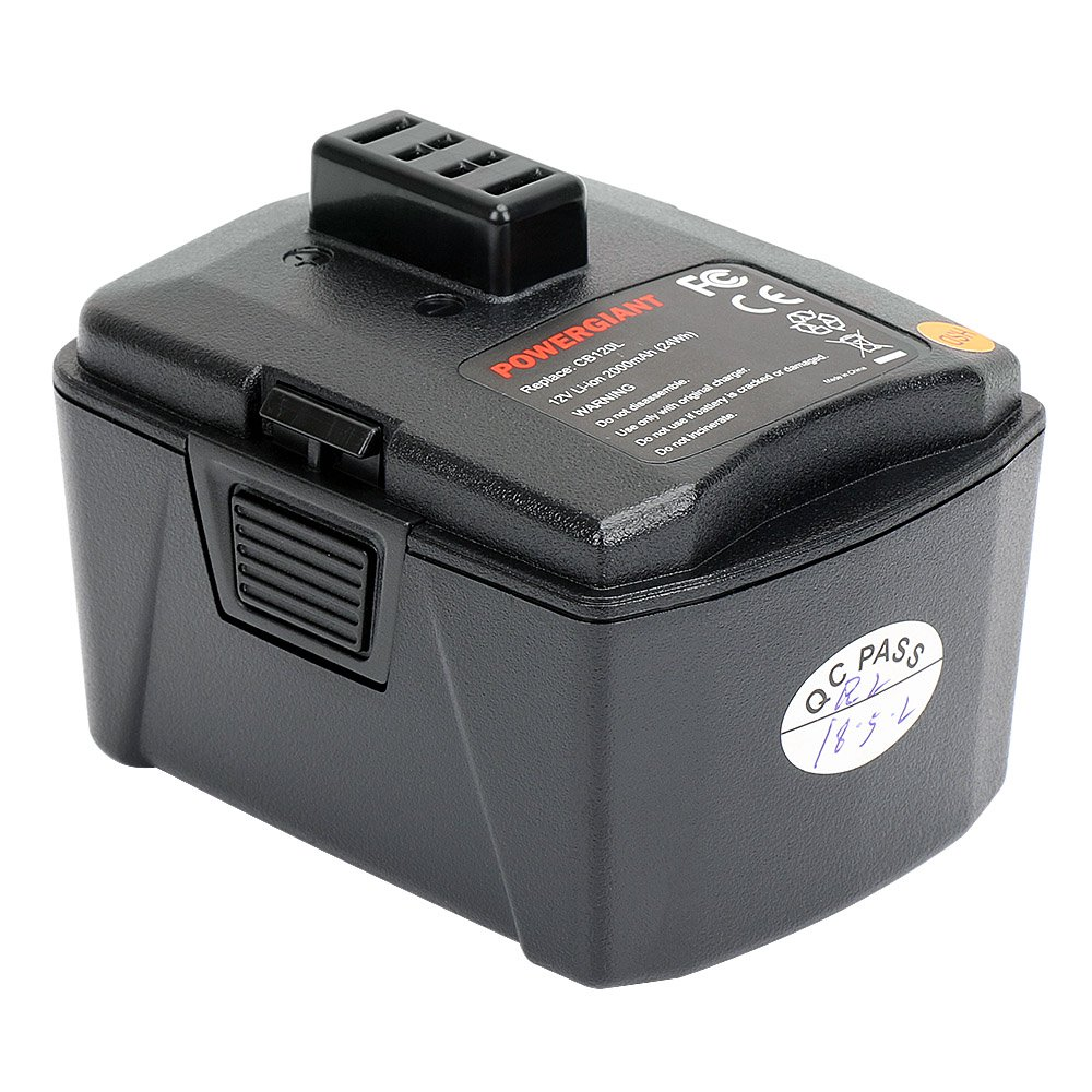 PowerGiant 12V 3.0Ah Lithium Battery Pack for Ryobi CB120L CB121L BPL-1220 130503001 130503005 737-788-10