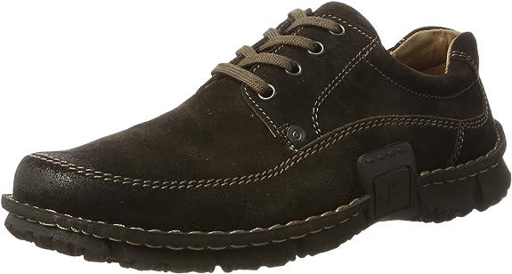 TALLA 43 EU. Josef Seibel SMU-William, Zapatos de Cordones Derby para Hombre