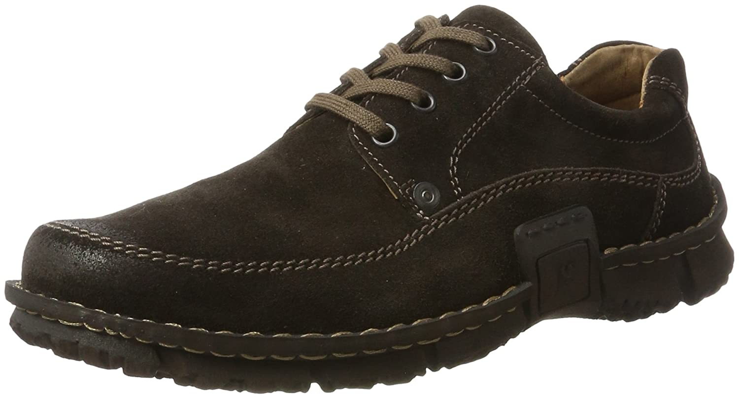 TALLA 42 EU. Josef Seibel SMU-William, Zapatos de Cordones Derby para Hombre