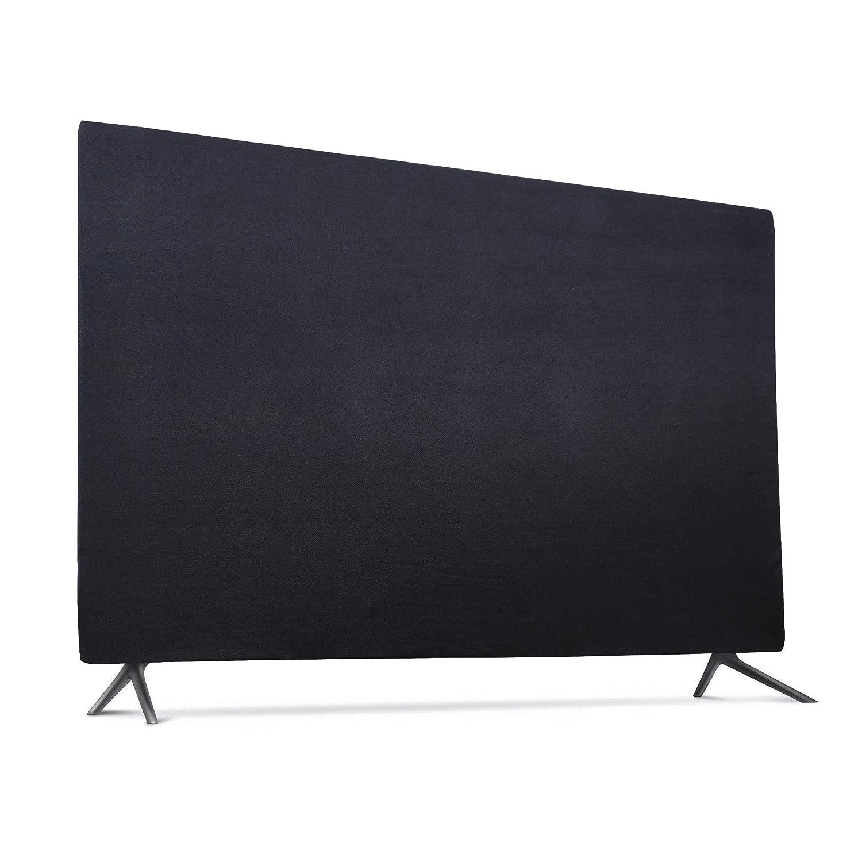 屋内用テレビセットカバー ソフトライクラ生地 ユニバーサル 43インチフラットスクリーン 防塵プロテクター 32