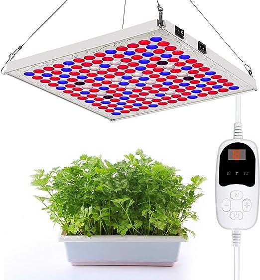 Grow Light Hydroponique spectre complet Lampe DEL Indoor Plant Flower Growing Ampoule