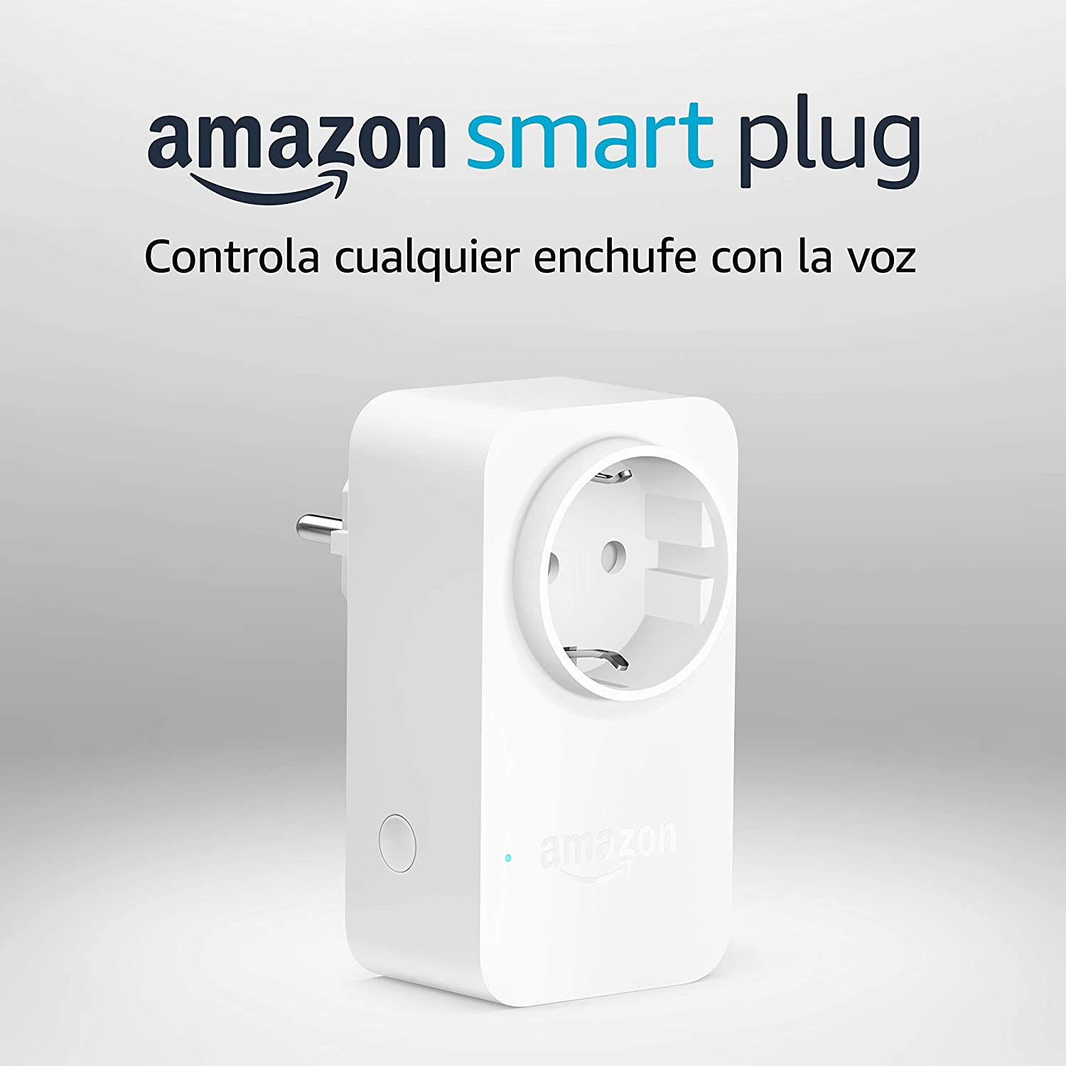 Amazon Smart Plug (enchufe inteligente wifi), compatible con Alexa