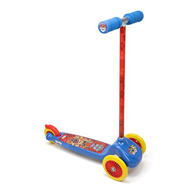 Paw Patrol OPAW199-C Kid's Three Wheel Flex Scooter, Multicoloured: Toys & Games